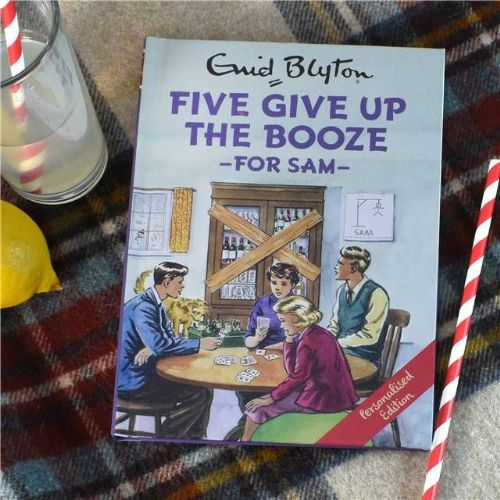 Five Give up the Booze: A Personalised Enid Blyton Book